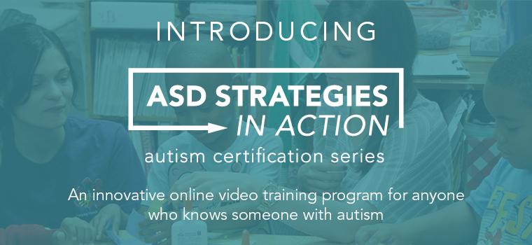 Autism Certificate Center Launch