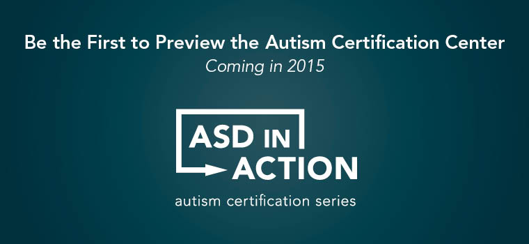 Preview the Autism Certification Center