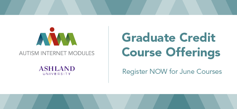 Graduate Credit Now Available on AIM - June 2016