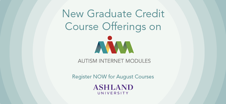 Graduate Credit Now Available on AIM - August 2014