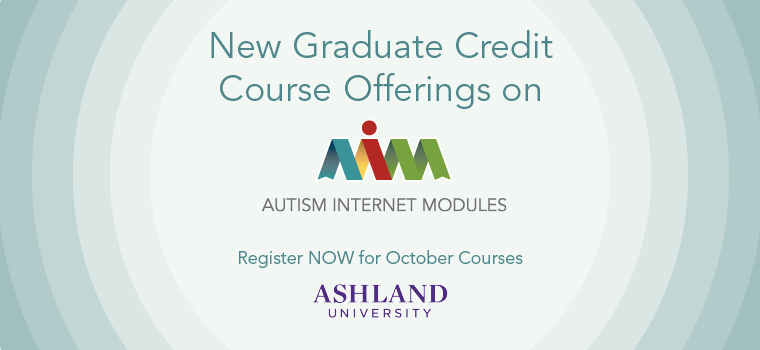 Graduate Credit Now Available on AIM - October 2014