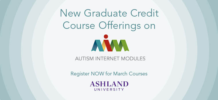 Graduate Credit Now Available on AIM - March 2015