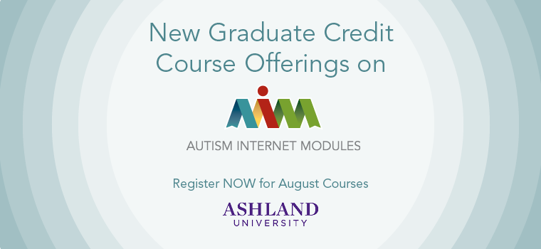 Graduate Credit Now Available on AIM - August 2015