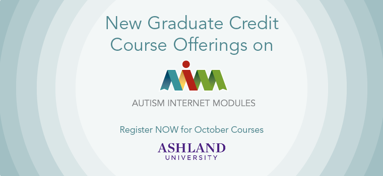 Graduate Credit Now Available on AIM - October 2015