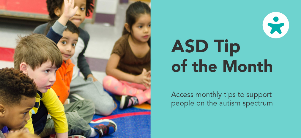 ASD Tip of the Month