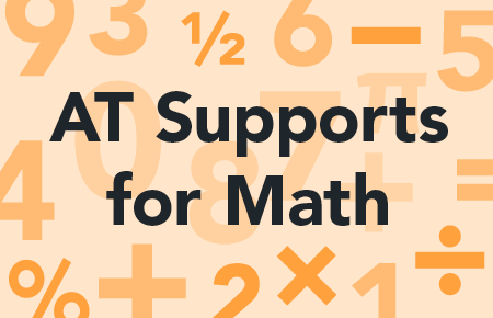 AT Supports for Math