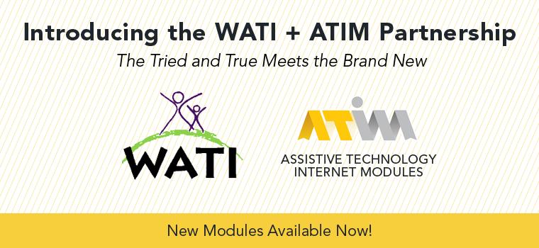 ATIM WATI Modules - 2015
