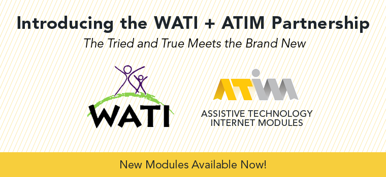 ATIM WATI Modules - 2015