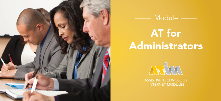 ATIM AT for Administrators