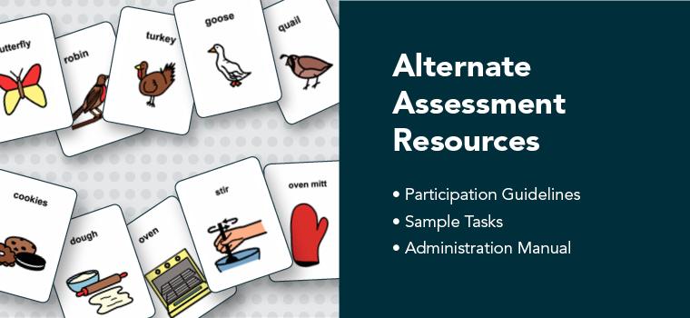 Alternate Assessment Resources