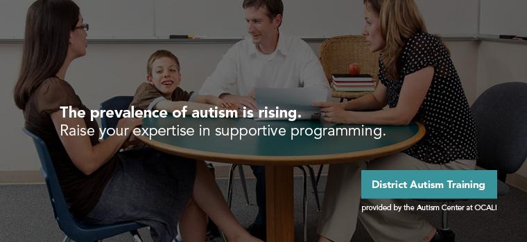 District Autism Training