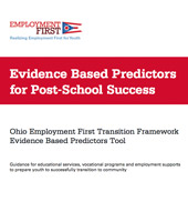 Evidence Based Predictors for Post-School Success