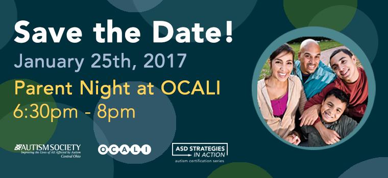 Parent Night at OCALI 2017