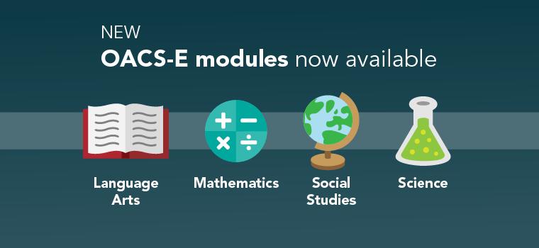New OACS-E Modules