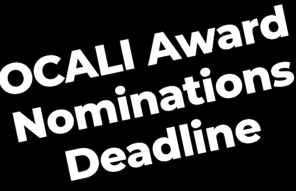 OCALI Award Nominations: OCALI Award Nominations Due September 30