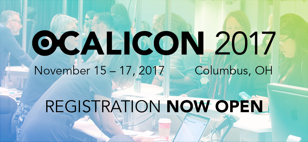 OCALICON 2017 Registration Open