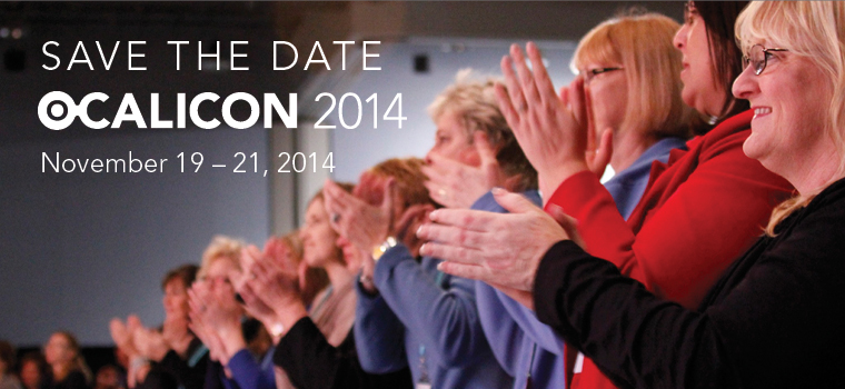 OCALICON 2014 Save the Date