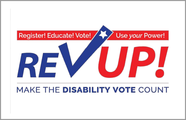 RevUpProjectImage: Rev Up the Vote July 13-27: National Disability Voter Registration Week