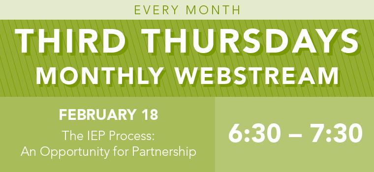 Third Thursday: The IEP Process