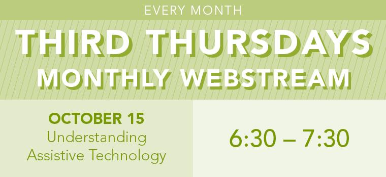 Third Thursday: Understanding Assistive Technology