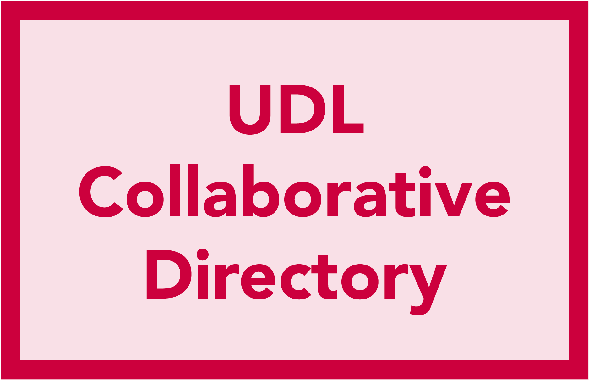 UDL Collaborative Directory