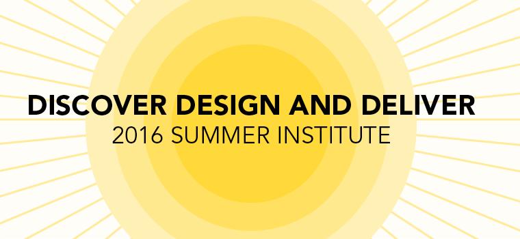 2016 Summer Institute