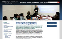 University of Illinois at Chicago - Assistive Technology Certificate - sm