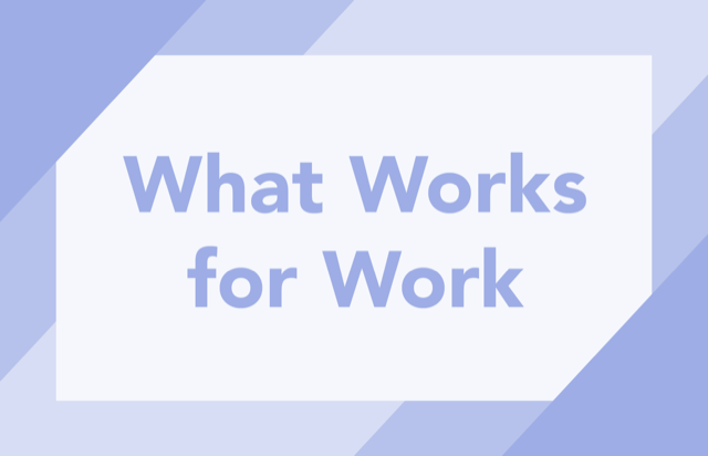 WWFW: What Works for Work: Evidence Based Transition Practices and Predictors