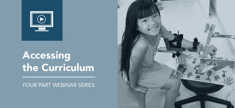 Access to the Curriculum Webinar Series