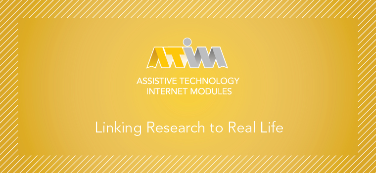 Assistive Technology Internet Modules
