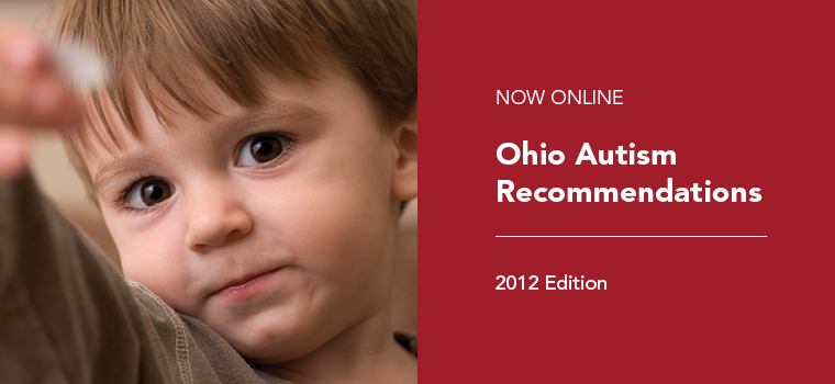 Ohio Autism Recommendations 2012