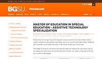 BGSU AT Programs Small
