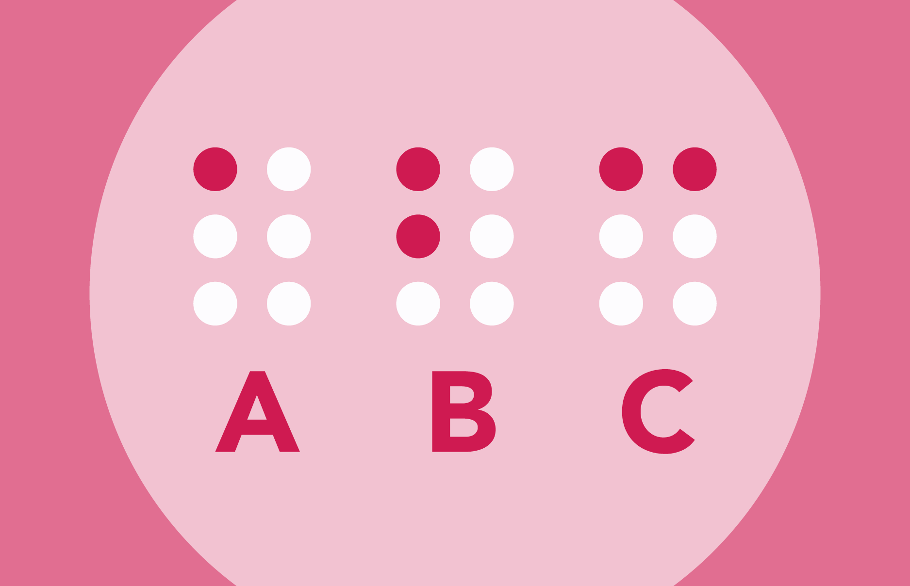 Braille Format for Ohio's State Practice Tests
