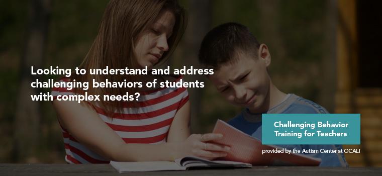 Challenging Behavior Training for Teachers